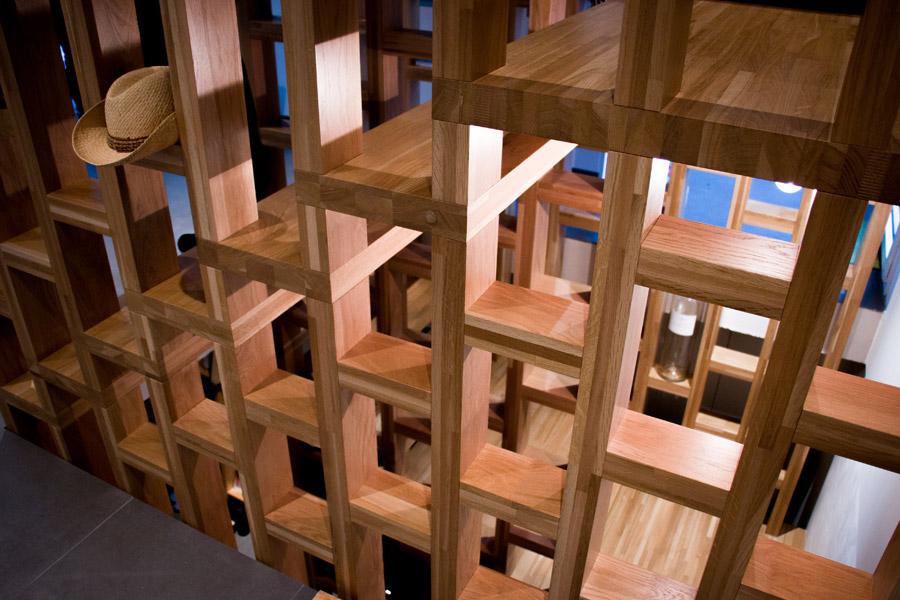 Escalier d'architecte/versoix/Genève/Suisse/